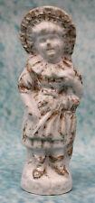 Antique Victorian Ceramic Porcelain Figure Small Girl German Fairing ? Numbered
