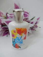 NEW!! BATH & AND BODY WORKS BBW WILD APPLE DAFFODIL SCENTED BODY LOTION 8 FL OZ