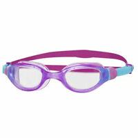 Zoggs Phantom Junior 2.0 UV Protection Anti Fog Swim Pool Goggles In Purple
