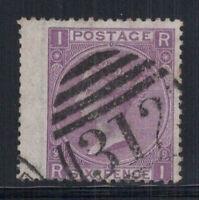 Großbritannien 1867 Mi. 30 Gestempelt 60% 6 Pence, Königin, Victoria, I, R