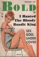 Bold Digest December 1957 Abbe Lane Cheesecake Pin Up 011719AME