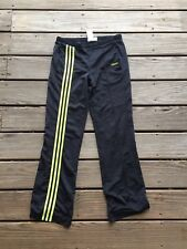 Adidas Vintage Spellout Black Track Pants Womens Size Small