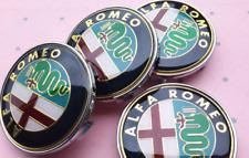 4X 60mm CLASSIC Car Wheel Center Hub Cap Emblem Badge For Alfa Romeo Accessories