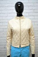 Giubbotto BURBERRY Donna Taglia S Giubbino Giacca Beige Jacket Woman Cotone