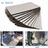 32piece Sound Noise Deadener Car Heat Shield Insulation Deadening Material Mat