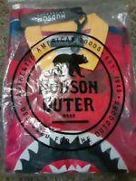 Hudson outerwear Large Sharkmouth Mens Collar Shirt
