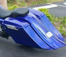 """1997-2008  6"""" Drop Back / Fender 14""""  Harley Touring Bagger Saddlebags No Lids"""