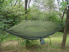Snugpak Jungle Hammock - Military, Bushcraft & Survival. Built-in Mosquito Net