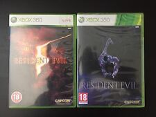 Resident Evil 5 y 6-XBOX 360/paquete