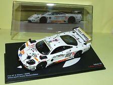 Nice 1/43 Saleen S7 FIA GT 2 Hours 2009 Ixo/Altaya Hines Lemaret