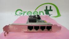 Dell HM9JY YT674 H092P Intel PRO/1000 VT Quad-Port Gigabit Ethernet Adapter High