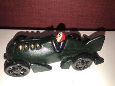 ART Boat Tail Racer Cast Iron Race Car w Driver Toy Hubley JM 210 RARE Vintage