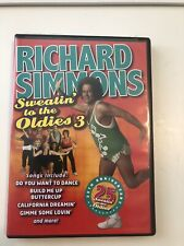 Richard Simmons 25th Anniversary Sweating to the Oldies 3 exercise aerobic Dvd