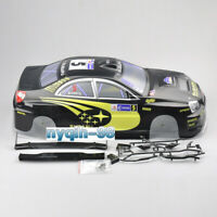 190mm PVC Body Shell&Rear Wing #S9BK For HSP HPI Kforce 1/10 RC Model Racing Car