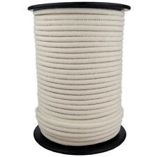 Corde Cordage en Coton 4mm 100m Blanc Crème Tressé Naturelle Cordelette Cordon