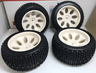OFFROAD Tire Set 4PCS Square Drive For FG Smartech Nutech Duratrax Carson 1/5 RC