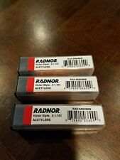 Radnor 64003609 Victor Style Acetylene Tips 3-1-101 Lot Of 3