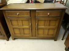 PRIORY VINTAGE OAK SIDEBOARD 2 x Drawers, 2 x Cupboards with Shelves