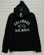 NHL Columbus Blue Jackets Youth Black Hoodie Size M 10/12 NWT
