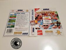 Olympic gold - Jaquette cover - master system - original