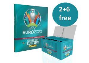 PANINI EURO 2020 TOURNAMENT BLUE EDITION STICKERS 223-438 AU CHOIX 2+6 FREE !!!
