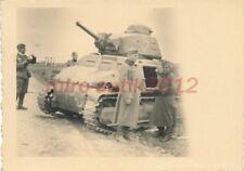 Foto, Westfeldzug, nahe Leuze, Franz. Beutepanzer Somua S35, 1940; 5026-245