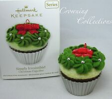2011 Hallmark Simply Irresistible Christmas Cupcakes Ornament 2nd in Series #2
