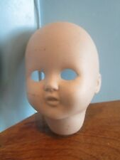 """Vintage Bisque Doll Head 3 1/2"""" Tall unpainted body parts"""