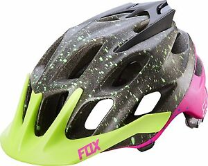 Fox Racing Flux Helmet Flight Black/Pink