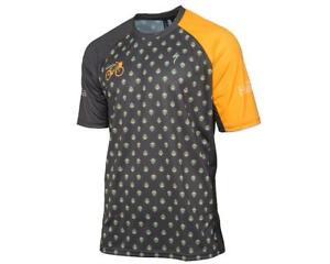 "AMain ""The Handlebar"" Specialized Enduro Sport MTB Short Sleeve Jersey (Black)"