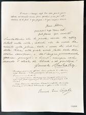 1926 - Lithographie citation Généraux Albricci, Badoglio, Caviglia.