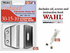 Wahl 30-15-10 WIDE REPLACEMENT BLADE For Stable/Show/Kennel Pro,U Clip CLIPPERS