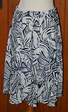 First Avenue, Ladies, Linen, Floral, Casual, Skirt, size 12-14