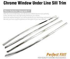 Chrome Window Under Line Sill Trim Molding k265 for HYUNDAI 2007-2009 Elantra/HD