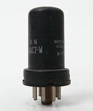 JAN CRC 6AC7-W  1 Stück  getestet    Röhre Tube Rar  Blau 51