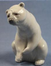 Eisbär Polarbär Lladro porzellanfigur Porzellan polarbear figur