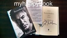 SIGNED Nevertheless A Memoir signed by Alec Baldwin, autographed, new