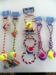 JOB LOT of 6 ASSORTED BRAND NEW  DOG TOYS.