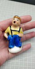 More details for  rare abendpost newspaper paperboy boy figurine pie funnel german