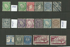 IRELAND  1922    SG71-82  TO 1/-  + OTHERS  USED /MINT