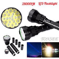 28000LM 5Mode CREE XM-L LED 21x T6 Super Flashlight Torch Lamp Light 18650