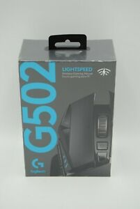 Logitech G502 Lightspeed Wireless Optical Gaming Mouse with RGB Lighting - NEW