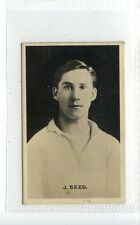 (Jc6345-100)  THOMSON,FAMOUS BRITISH FOOTBALLERS,J.SEED,1921,#