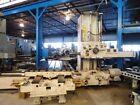 "5"" GIDDINGS & LEWIS Horizontal Boring Mill, 350T, G&L, HBM, 1961, 60""x120"" Table"