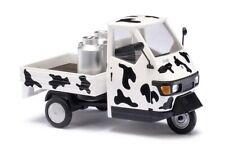 Busch 60004 Scale 1:43 piaggio ape '50 With Cow Patch # New Original Packaging #