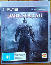PS3 Game Dark Souls II 2 Manual Included EXCELLENT CONDITION Namco Bandai PAL