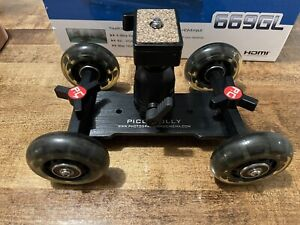 P&C Pico Flex Camera Skate Table Dolly for Smooth DSLR or Phone Video Motion