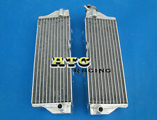 For HUSQVARNA WR/CR 125/250/300/360 2000-2010 Aluminum Radiator 2009 2008 2001