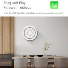 5V Smart Wireless WiFi Siren Alarm Sensor USB Alarm Work for Alexa Echo Google
