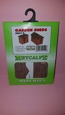 Metcalfe Mini Kit PO512 Garden Sheds 00 Gauge